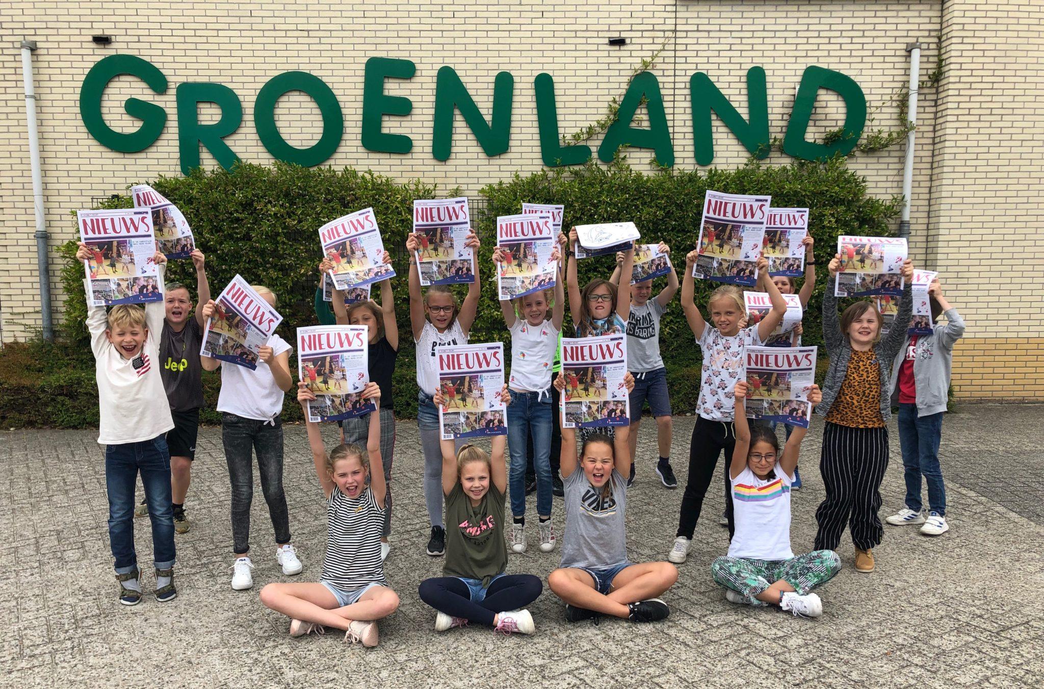 Een krant door kinderen voor kinderen!