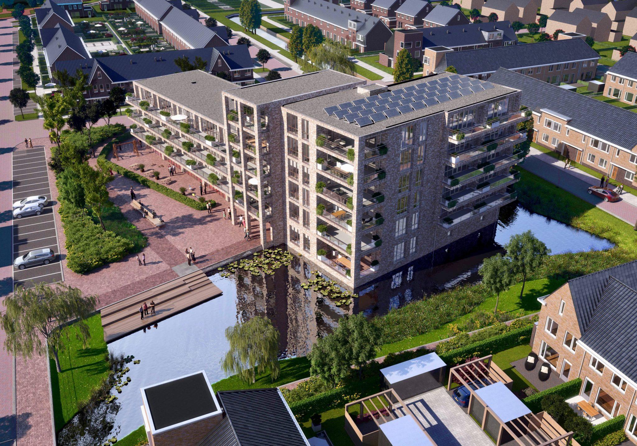 AM, Amvest en SDK Kinderopvang ondertekenen turnkey overeenkomst voor maatschappelijke ruimte project Wilgenkroon in Dordrecht